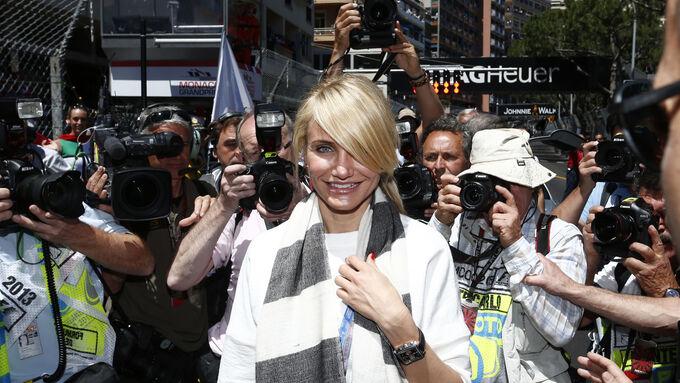 Cameron Diaz - GP Monaco 2013 - VIPs  Promis