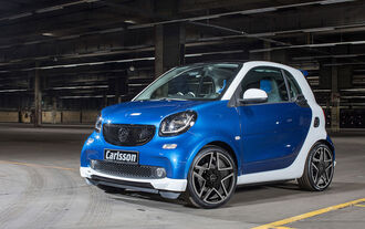 Carlsson CK10 Smart - Tuning - Genfer Autosalon 2015