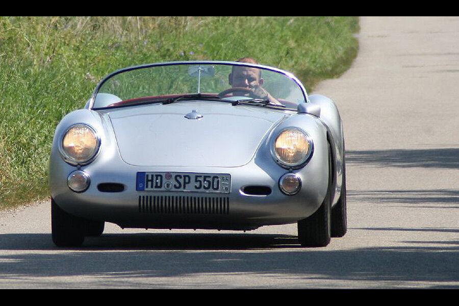 Porsche 356 Und 550 Spyder Replikas Auto Motor Und Sport