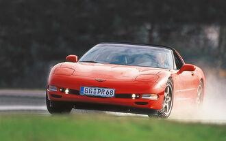 Chevrolet Corvette, Frontansicht