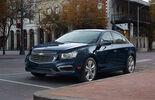 Chevrolet Cruze Facelift 2014 New York Auto Show