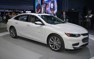 Chevrolet Malibu - New York Auto Show 2015