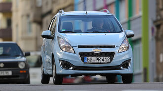 Chevrolet Spark 1.2, Frontansicht