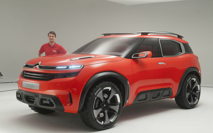 citroen aircross concept gro er suv f r china auto motor und sport. Black Bedroom Furniture Sets. Home Design Ideas