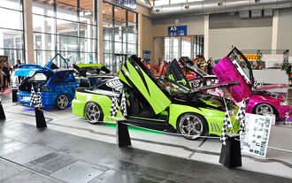 Club Area, Tuning World Bodensee 2014, Messe Friedrichshafen