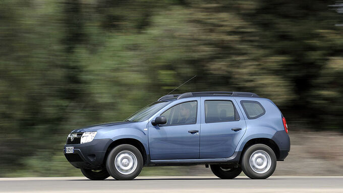 Dacia Duster 1.6 16V Test