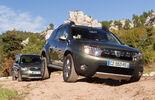 Dacia Duster dCi 110 4x4, Skoda Yeti 2.0 TDI 4x4, Gelände