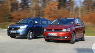 Dacia Lodgy, VW Touran