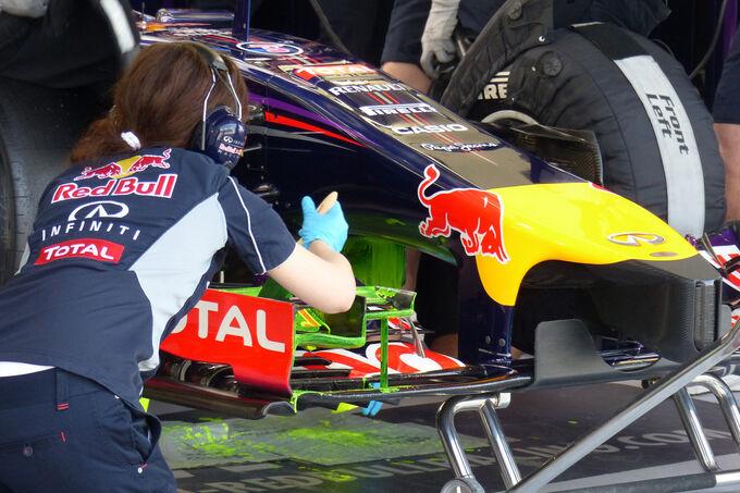 A Red Bullnál próbálják ledolgozni a lemaradást