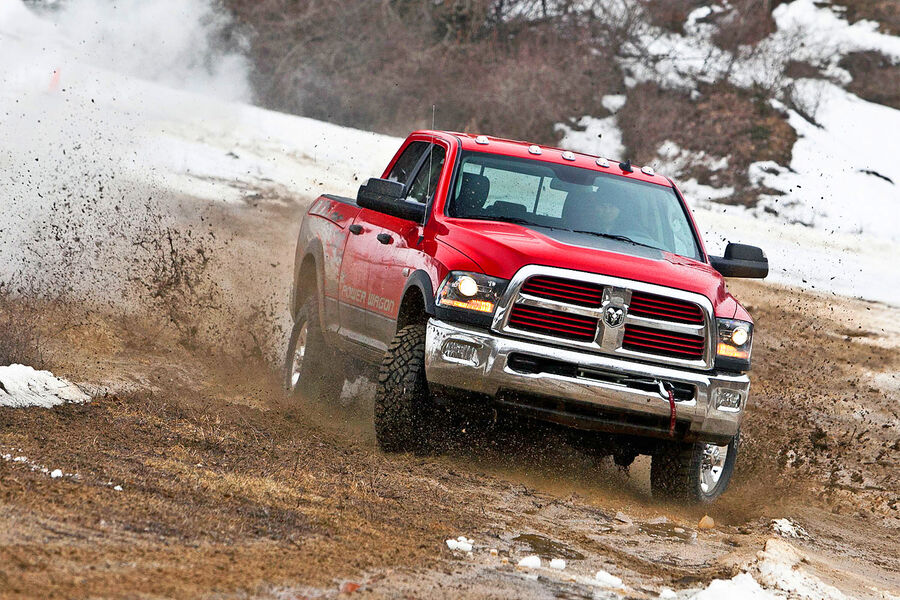 dodge power wagon 2014 dampfschiff mit 410 ps. Cars Review. Best American Auto & Cars Review