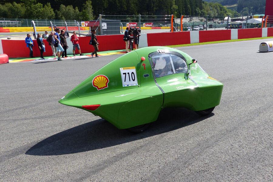 Spritspar Rennwagen In Spa 3 600 Kilometer Mit Einem
