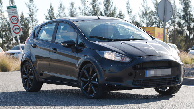 Erlkönig Ford Fiesta RS