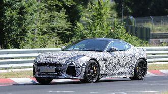 Erlkönig Jaguar F-Type Coupé SVR