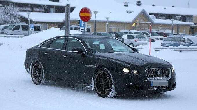 Erlkönig Jaguar XJ