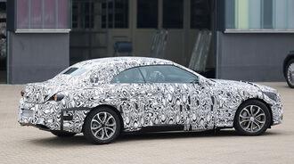Erlkönig Mercedes C-Klasse Cabrio