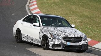 Erlkönig Mercedes C63 AMG