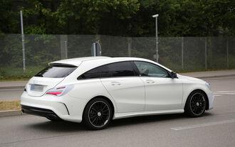 Erlkönig Mercedes CLA Shooting Brake