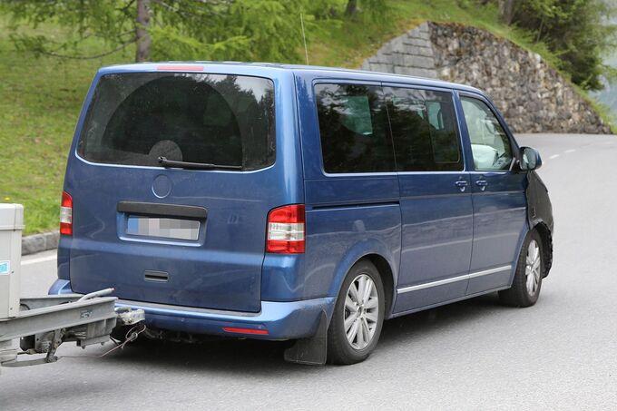 Erlkönig VW T6 Die Basis bleibt erhalten