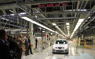 Erster neuer Saab 9-3 NEVS