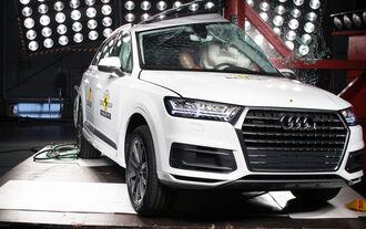 Euro NCAP - Crashtest Audi Q7