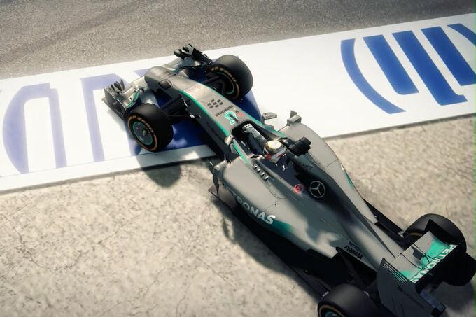 Formel 1 2014 game erste screenshots und trailer für f1 2014