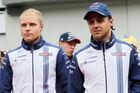 Felipe Massa Valtteri Bottas - Williams - 2015