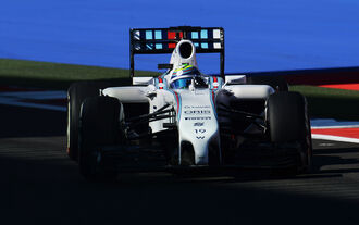 Felipe Massa - Williams - Formel 1 - GP Russland - Sochi - 10. Oktober 2014