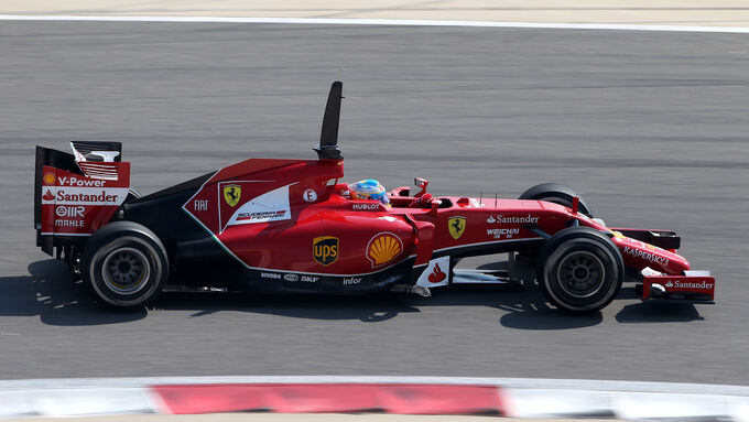 Fernando Alonso - Bahrain - Test - 2014