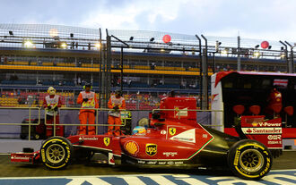 GP Singapur 2014 (Training 3)