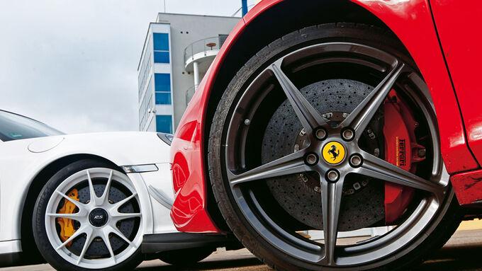 Ferrari 458 Italia, Porsche 911 GT3 RS 4.0, Felge, Rad