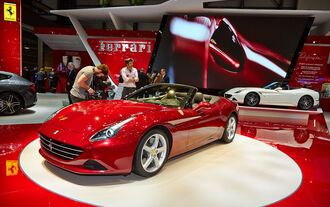 Ferrari California T, Genfer Autosalon, Messe 2014
