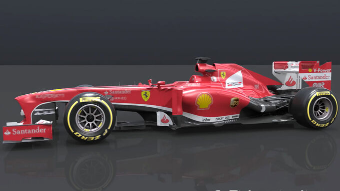 Ferrari F138 Piola 06/2013