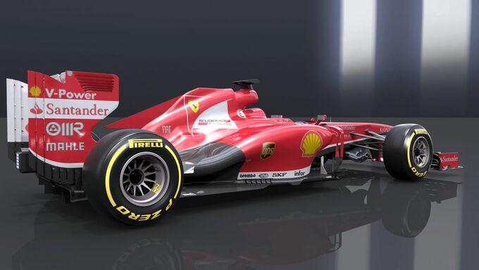 Ferrari F138 Technik-Updates