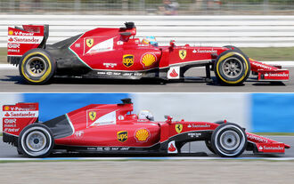 Ferrari SF15-T - Technik-Check - Formel 1 - 2015