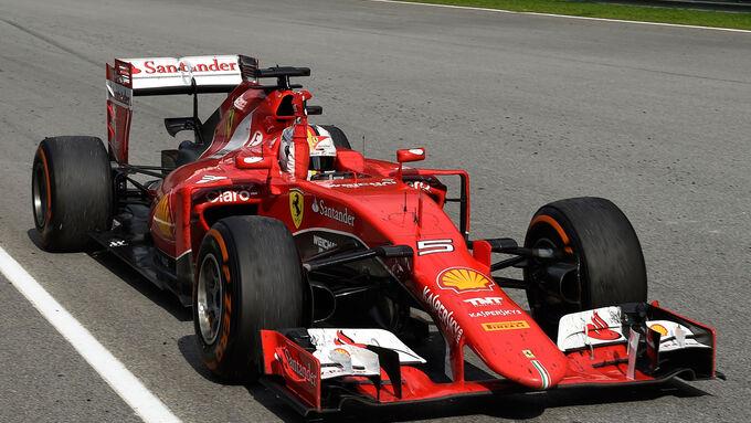 Vettel wie Schumi