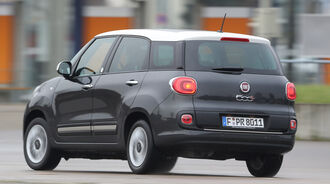 Fiat 500L Living 1.6 16V Multijet, Heckansicht