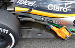 Force India - Technik - Unterboden-Schlitze - Formel 1 - 2015