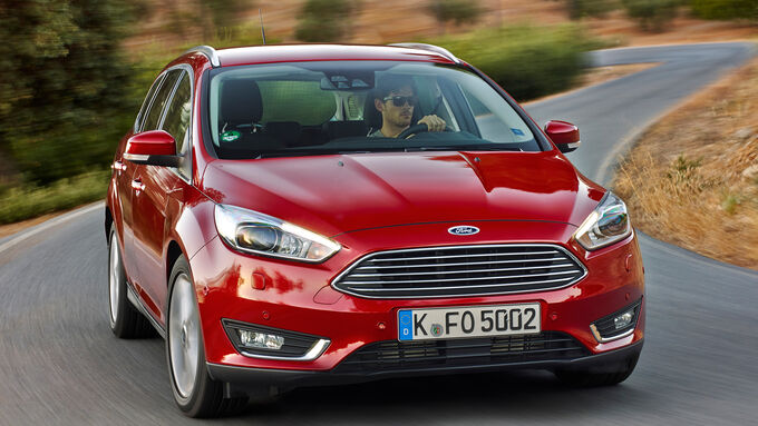 Ford Focus Turnier, Frontansicht