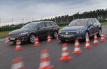 Ford Mondeo Turnier 2.0 TDCI, VW Passat Variant 2.0 TDI, Bremstest