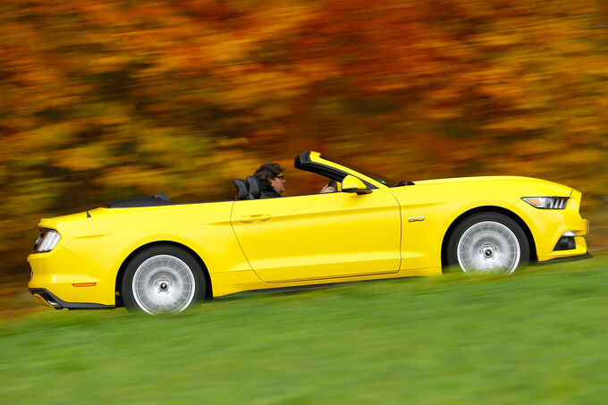 Ford Mustang Convertible 5.0 Ti-VCT V8, Seitenansicht