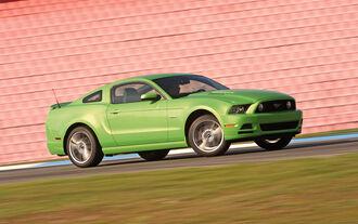 Ford Mustang, Seitenansicht