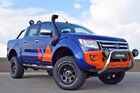 Ford Ranger Magic Orange delta4x4