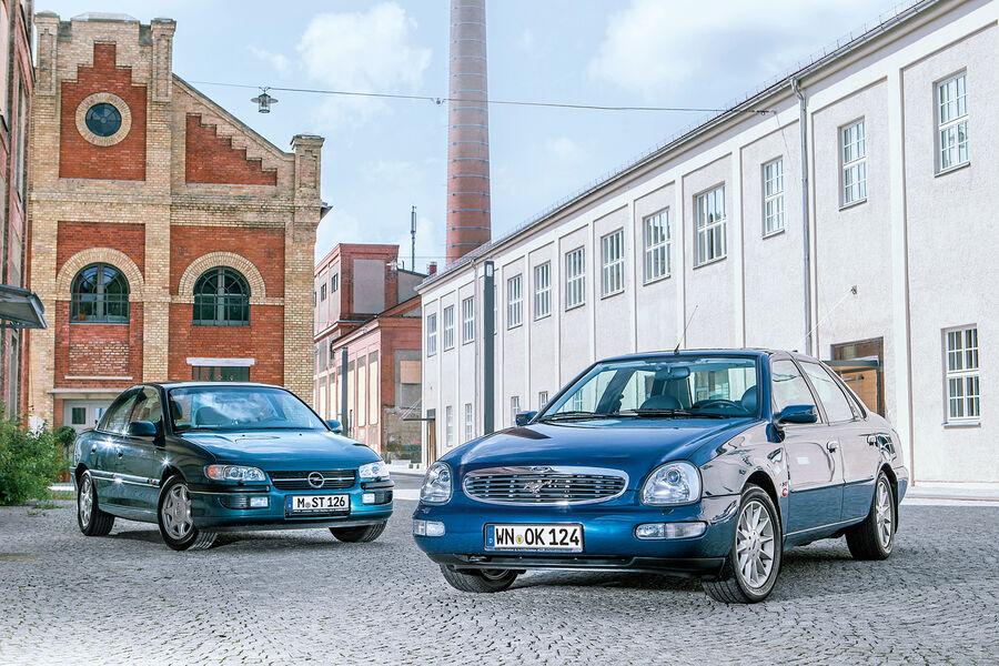 Ford Scorpio Mk2 und Opel Omega B Fahrbericht: Die Letzten ihrer Art - auto motor und sport