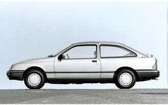 Ford Sierra, Seitenansicht