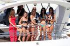 Formel 1-Girls Abu Dhabi