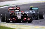 Formel 1 - Lotus - Romain Grosjean - GP Brasilien 2015