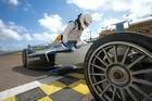 Formel E Tracktest