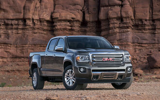 GMC Canyon MY 2015