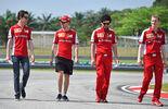 GP Malaysia - Sebastian Vettel - Ferrari - Formel 1 - Donnerstag - 26.3.2015