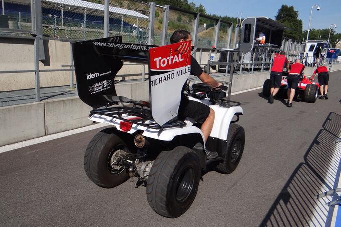 GP2-Scrutineering-GP-Belgien-Spa-Francor